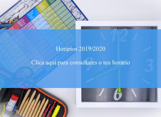 horarios 2019/2020