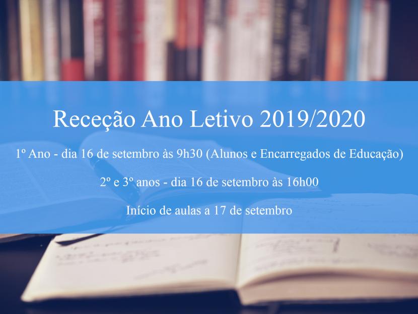 Ano letivo 2019/2020