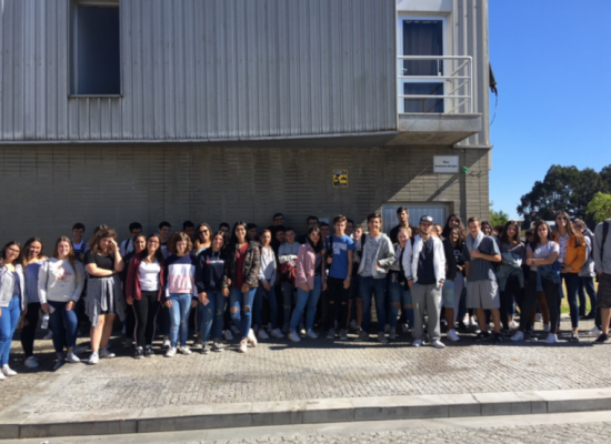 Escola profissional de vila do conde visita o Atelier Lafontana