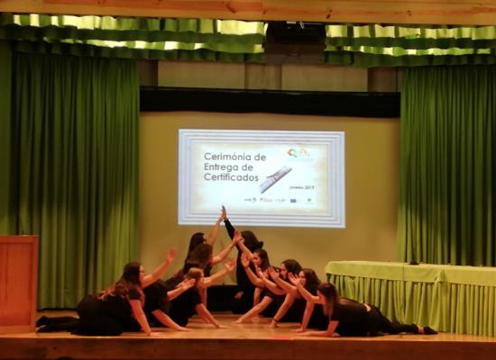cerimonia de entrega de diplomas centro qualifica escola profissional de vila do conde