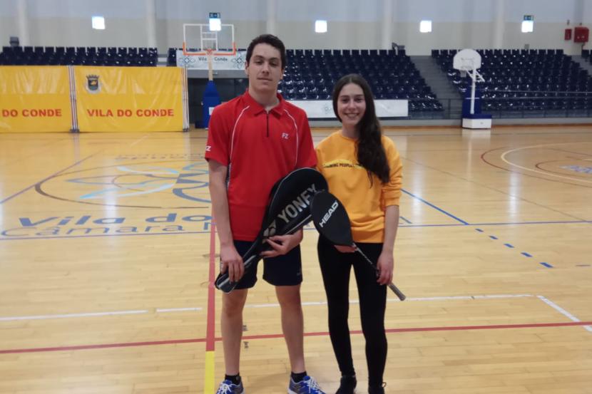 torneio de badminton da escola profissional de vila do conde 2019