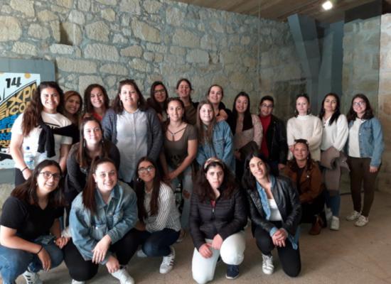 Escola profissional de vila do conde visita animar 14