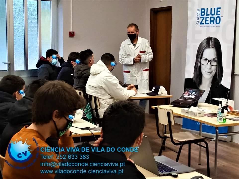 Shamir e Centro de Ciência Viva na EPVC